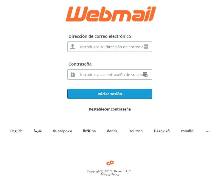 Entendiendo que es Webmail