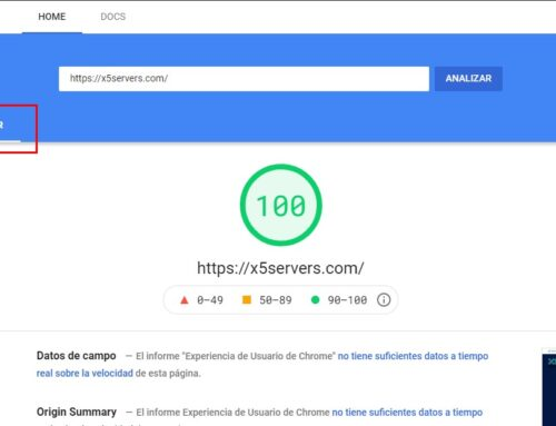 Que es Google pagespeed insights